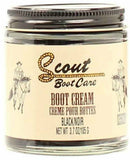 Scout Black Leather Boot Cream Polish 3.7oz 0350201