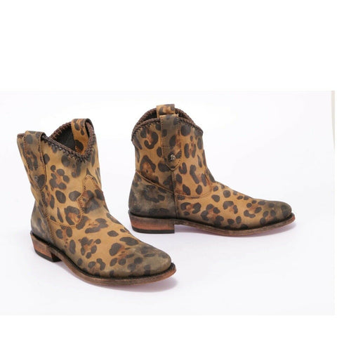 Liberty Black Ladies Cheetah Miel Boot LB-711330