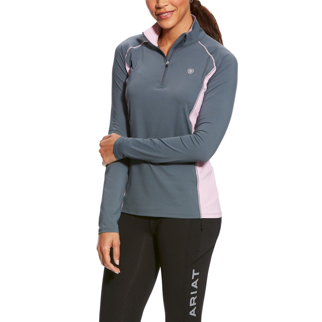 Ariat Ladies Ariattek Tri Factor Cool Pullover 10025769 10025765