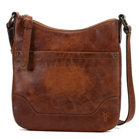 Frye Ladies Melissa Swing Body Cognac Leather Bag 34DB0354-COG