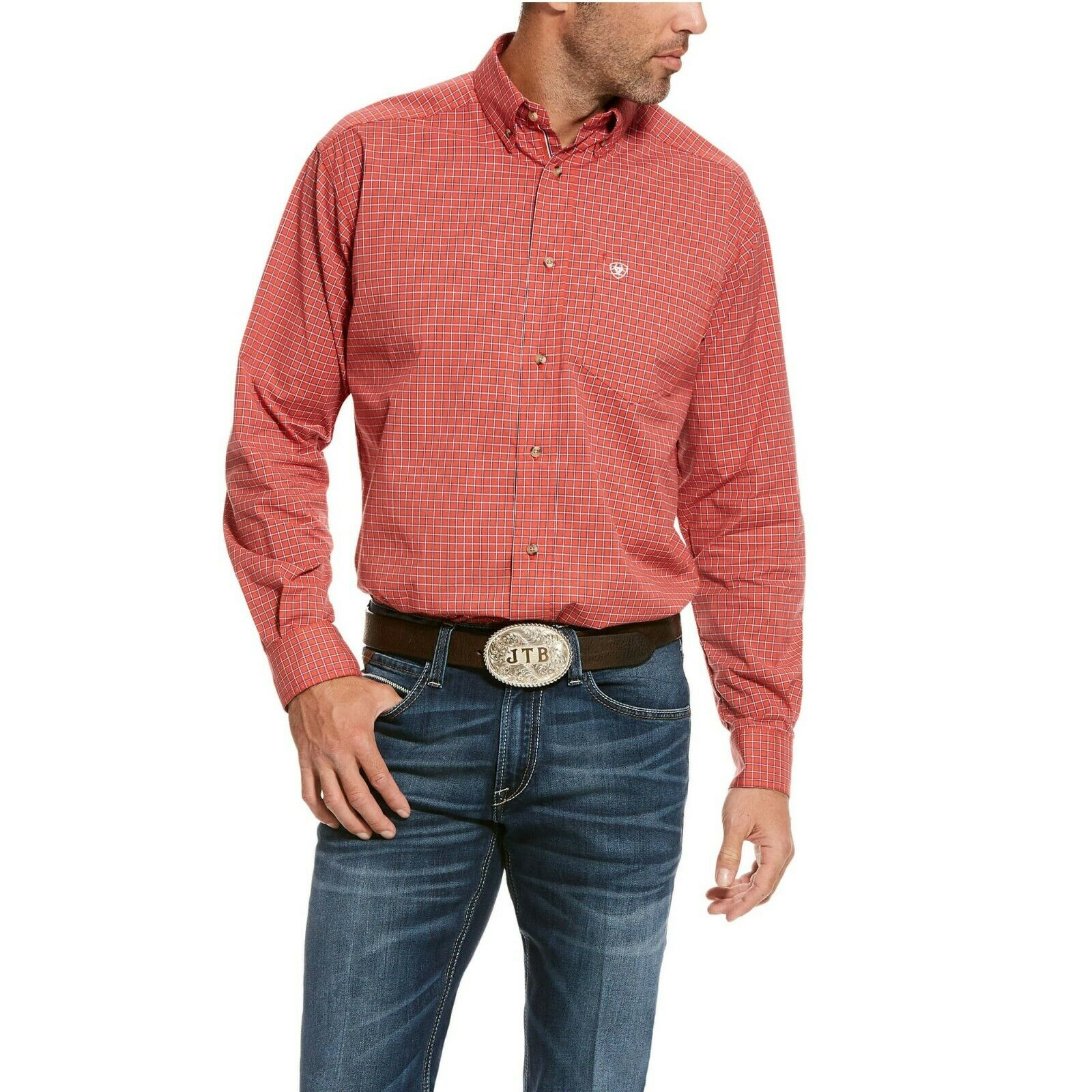 Ariat  Men's Flame Smulders Pro Series Stretch Classic Shirt 10028193