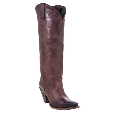 Lane Ladies Julia Tall Wine Leather Boot LB0351B - Wild West Boot Store