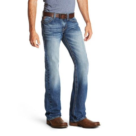 Ariat® Men's M7 Rocker Cooper Slim TekStretch Bootcut Jeans 10020790