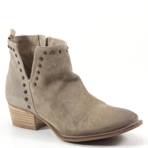 Diba True Ladies Short Order Beige & Gold Booties 54647