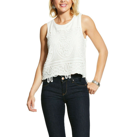 Ariat® Ladies Egret Loretta Tank Shirts 10030863