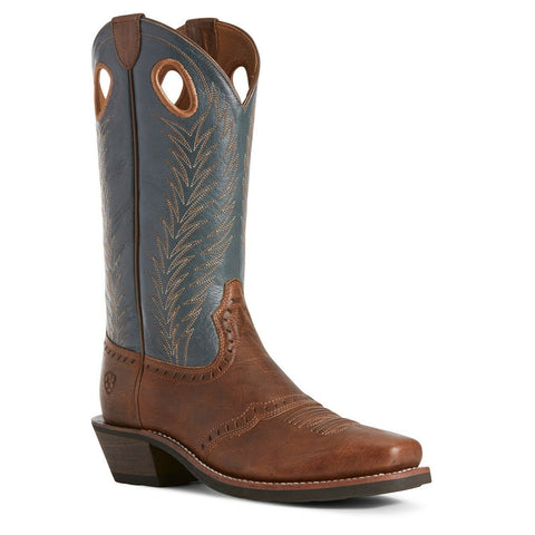 Ariat Ladies Blue Heritage Rancher Boots 10027372