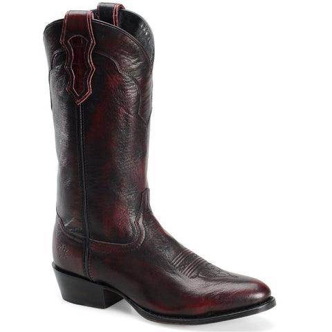 Double H Men's Black Cherry Brushoff Goat Leather DH5440 - Wild West Boot Store - 1