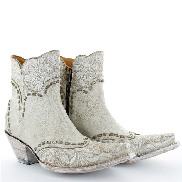 Old Gringo Ladies Erin Short Bone Western Boots BL3084-2