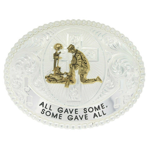 Montana Silversmiths All Gave Some, Some Gave All Buckle 12011