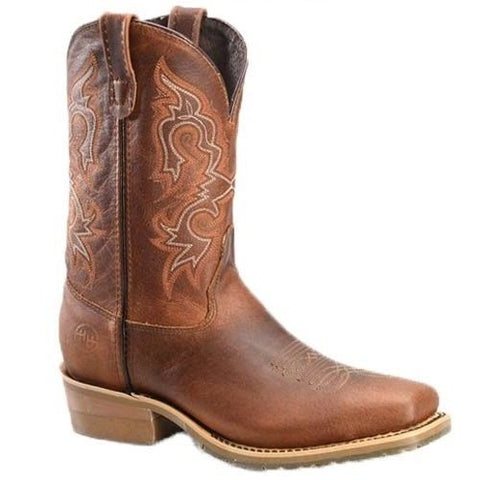 Double H Men's Domestic Wide Square Toe ICE Roper Boots DH4628