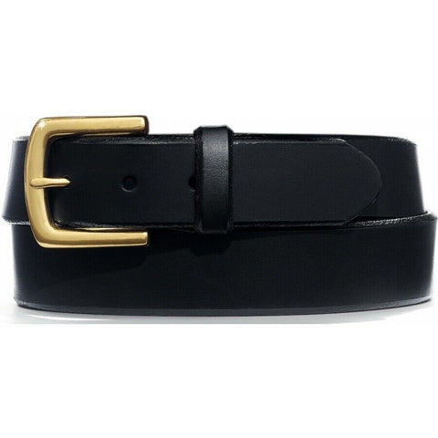 Leegin Men's English Bevel Latigo Black Belt 21803
