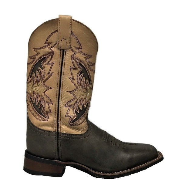 Laredo Men's Chocolate & Tan Boots LA1012 - Wild West Boot Store