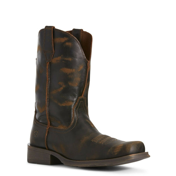 Ariat Men's Rambler Ultra Naturally Distressed Western Boot 10027221