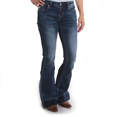 Grace in L.A. Ladies Soft Trouser Boot Cut Jeans JL-9262