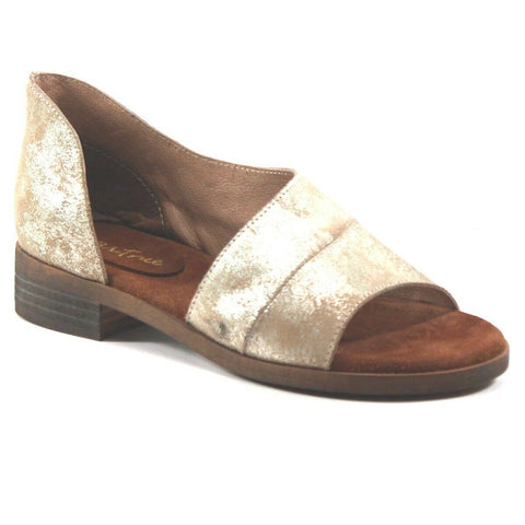 Diba True Ladies Gold Derby City D'Orsay Flats 71331-GLD