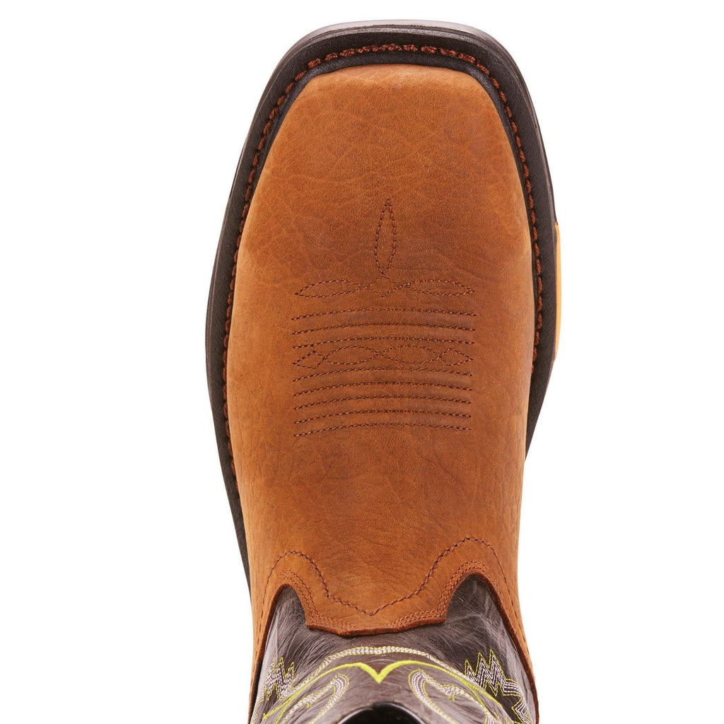 bd191d93bb9 Ariat® Men's Workhog XT Bark/Forest H2O Square Toe Boots 10024971 ...