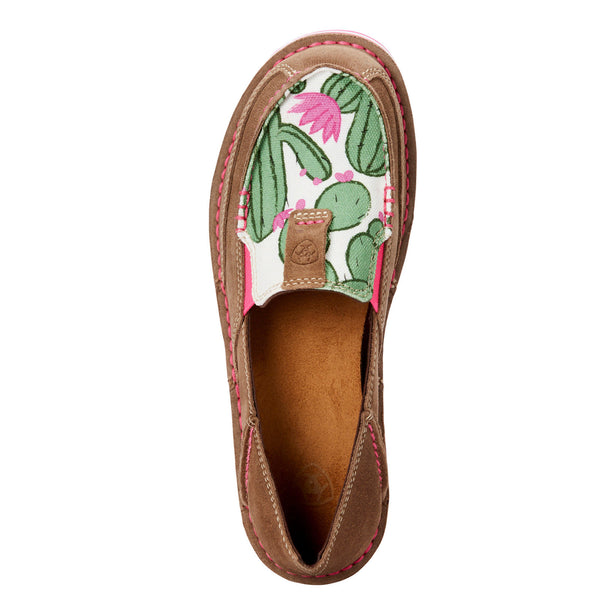Ariat Ladies Cruiser Cactus Print Relaxed Bark Shoe 10023012 - Wild West Boot Store