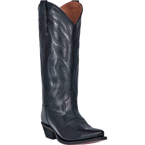 Dan Post Ladies Carrie Black Leather Boots DP4068