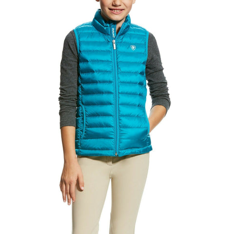 Ariat Girl's Atomic Blue Ideal Down Vest 10023528