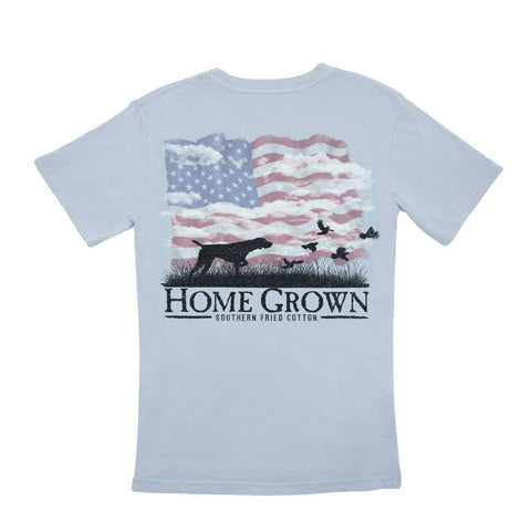 Southern Fried Cotton USA Point The Way Home T-shirt SFM11328