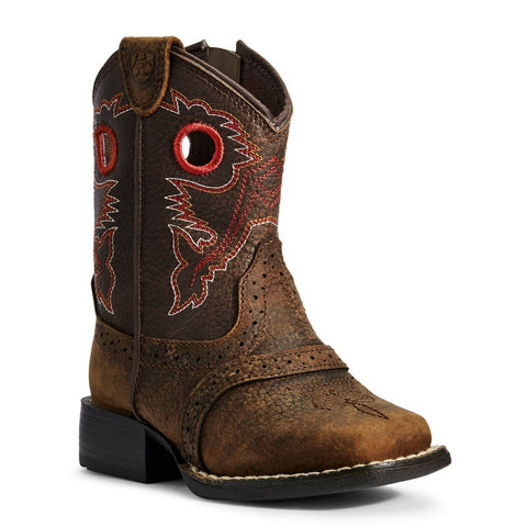 Ariat Children's Lil' Stomper Heritage Rough Stock Boots A441000402