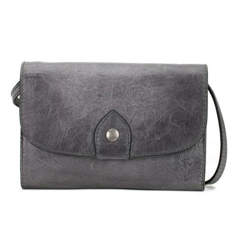 Frye Ladies Carbon Melissa Wallet Crossbody 34DB354-CRB