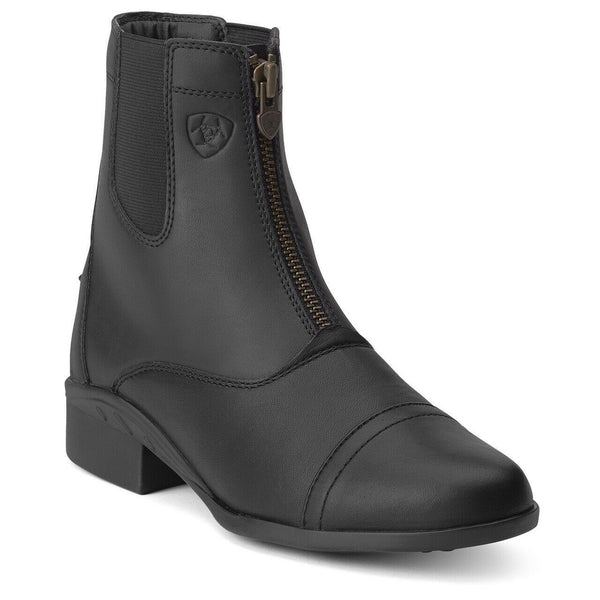 Ariat® Ladies Performance Scout Paddock Black Zip-up Boots 10012741