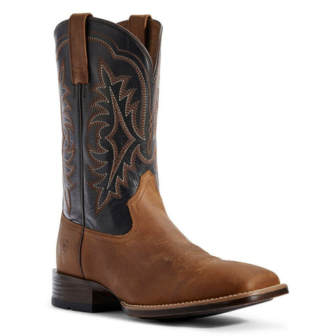 Ariat® Men's Ryden Ultra Status Brown and Black Boots 10031552