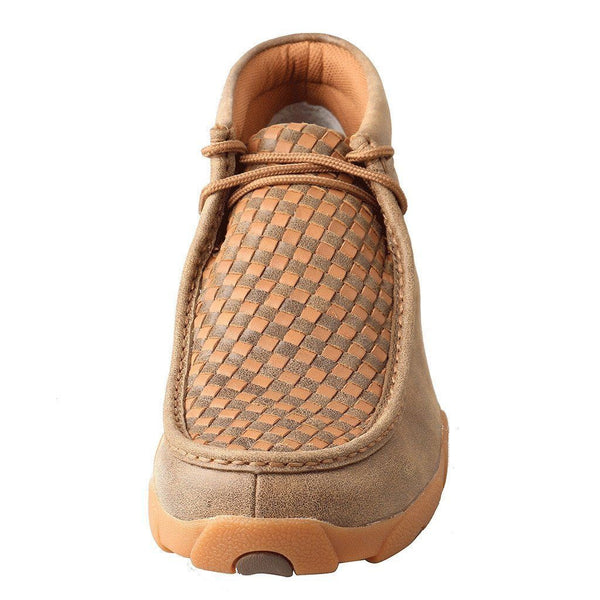 Twisted X Men's Bomber/Tan Patchwork Driving Mocs MDM0033 - Wild West Boot Store