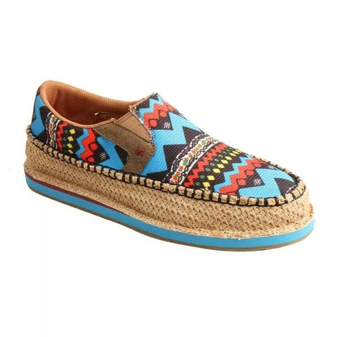 Twisted X Ladies Multi-Color Slip-On Loafer WCL0007
