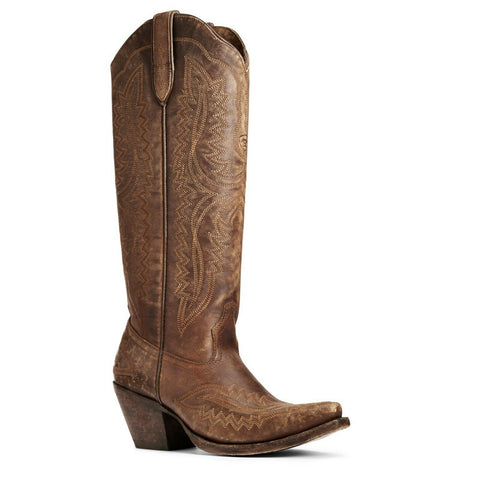 Ariat Ladies Casanova Naturally Distressed Western Boots 10034002