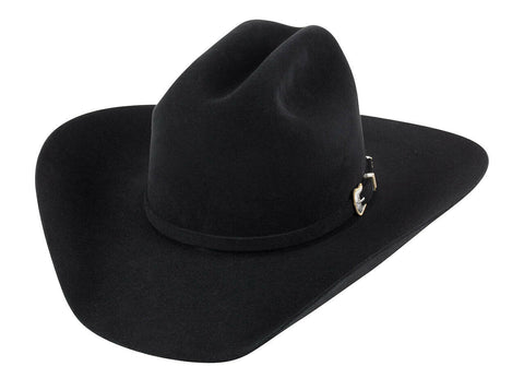American Hat Co. 6X Black Felt Western Hat 6XBLK425