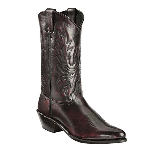 Abilene Men's Black Cherry Western Boots 6461 - Wild West Boot Store