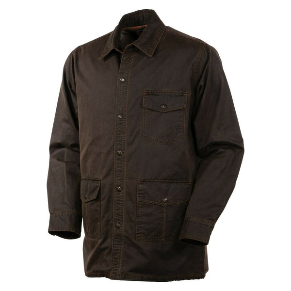 Outback Trading Company® Men's Wayne Brown Snap Jacket 29754-BRN