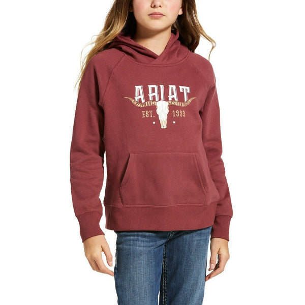 Ariat® Girls Fig Galaxy R.E.A.L™ Vintage Hoodie Sweatshirt 10033548