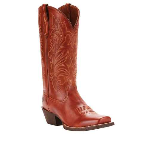 Ariat® Ladies Round Up Stockyards Naturally Rich Brown Boots 10025043