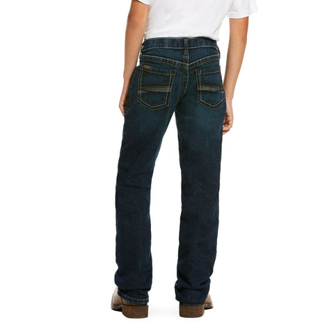 Ariat® Boy's B4 Relaxed Stretch Miller Boot Cut Jean 10028918