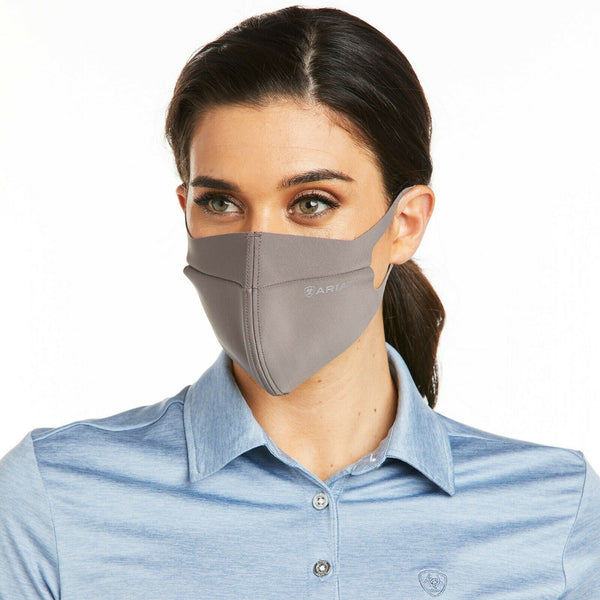 Ariat®  AriatTEK™ Unisex Plum Grey Face Mask 10036895