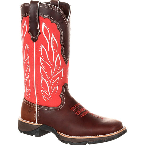 Durango Ladies Mahogany Strawberry Sunrise Boot DRD0221 - Wild West Boot Store