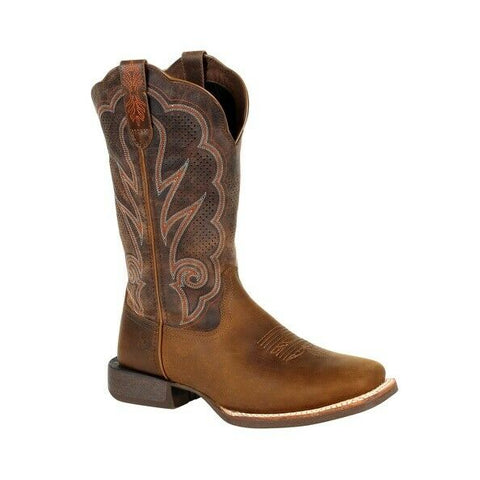 Durango® Ladies Rebel Cognac Ventilated Western Boot DRD0376