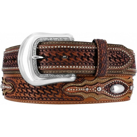 Brighton Men's Brown Classic Country Belt C41804