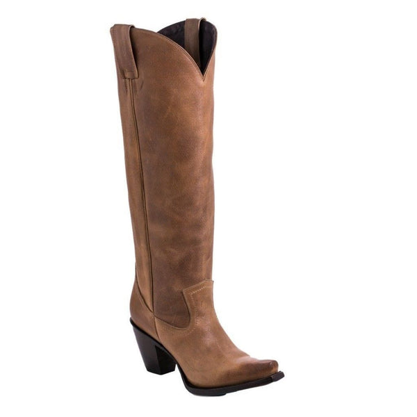 Lane Ladies Julia Tan Leather Tall Boot LB0351C - Wild West Boot Store
