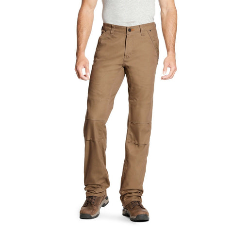 Ariat® Men's Rebar M4 DuraStretch Canvas Khaki Utility Pants 10023475