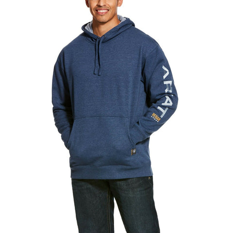 Ariat Men's Navy Rebar Graphic Hoodie 10027816