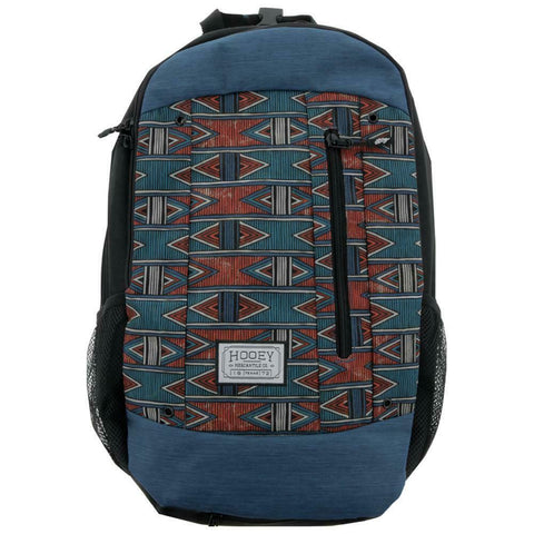 Hooey Rockstar Black Aztec Backpack Bag BP029AZ