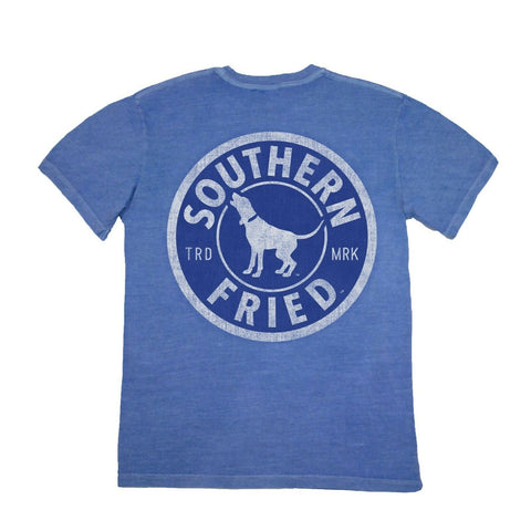 Southern Fried Cotton Southern Traditions Blue Flame T-shirt SFM11293