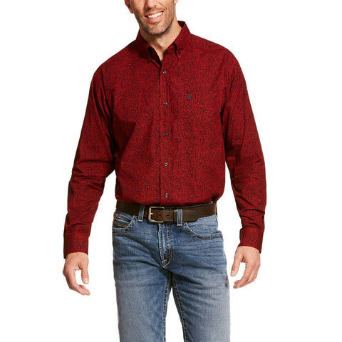 Ariat® Men's Cranberry Crimson Classic Shirt 10028818