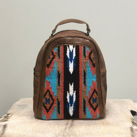 American Darling Aztec Saddle Blanket Backpack Purse ADBGS156DAR