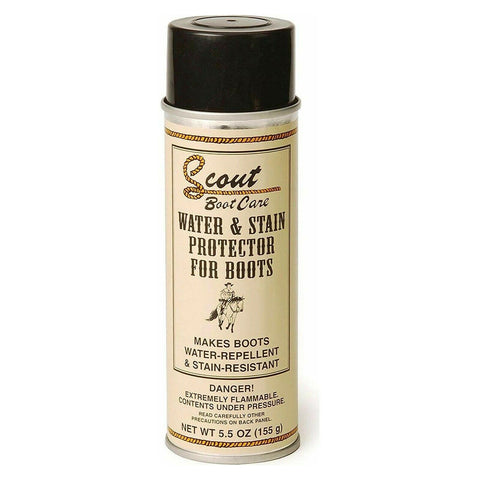 Scout Boot Care Water & Stain Protector for Boots 03601 POS