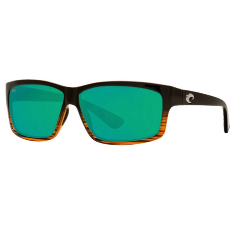 Costa Cut Coconut Fade Frame with Green Lens Sunglasses UT 52 OGMGLP